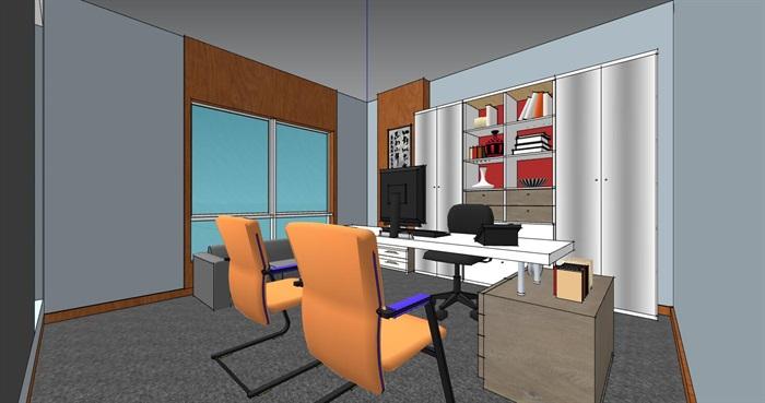 售楼部接待室室内精细设计(3)