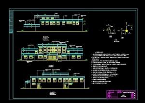 藏族医院建筑cad方案