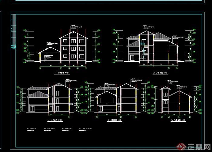 欧式风格详细的经典幼儿园cad施工图