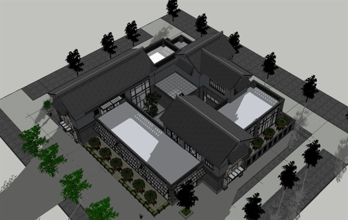 中式建筑 院落(2)