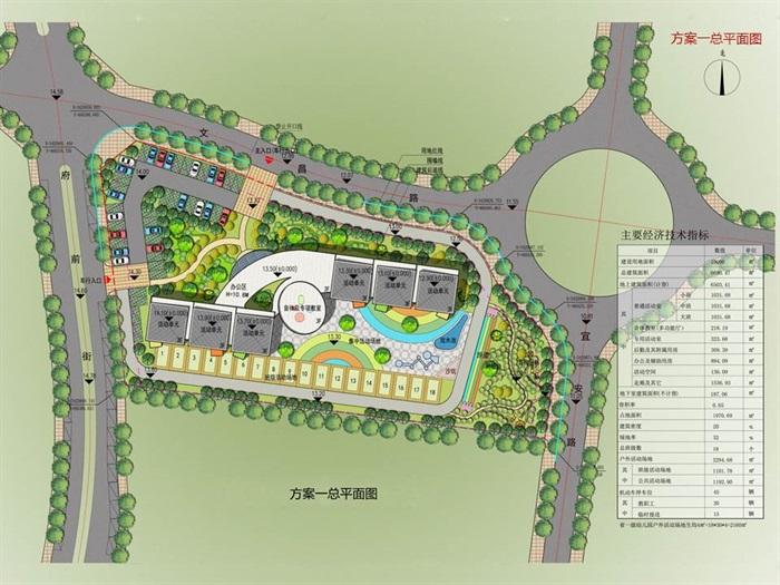 某集镇幼儿园方案设计(1)