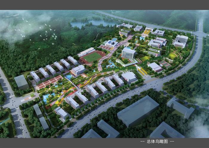 某大学新校区景观设计方案(1)