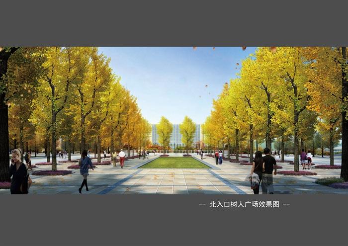 某大学新校区景观设计方案(3)