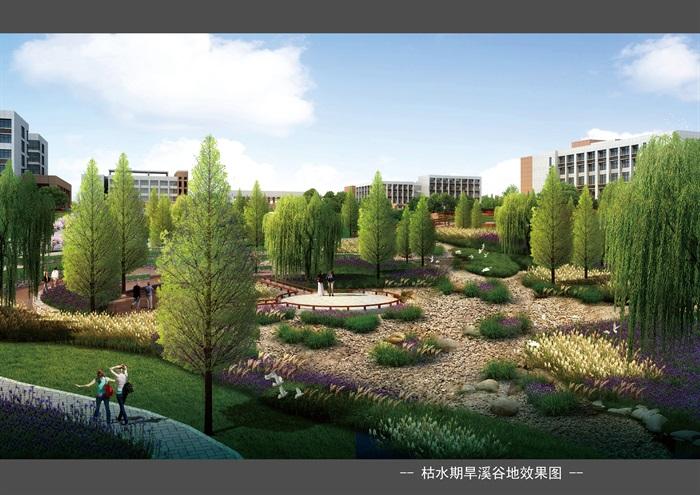 某大学新校区景观设计方案(4)
