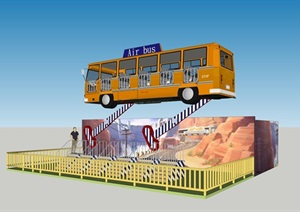 空中巴士(L8-B8-H3.6m)