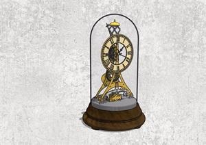 精品摆件钟表设计SU(草图大师)模型