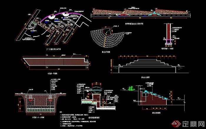 详细完整的木贴图v贴图cad施工图室内设计网站栈桥哪一个比较好图片