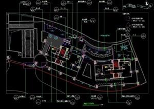 某详细的办公环境设计cad方案