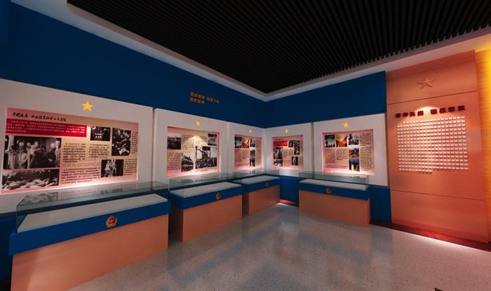 公安派出所警营文化展示中心3D模型及效果图(8)