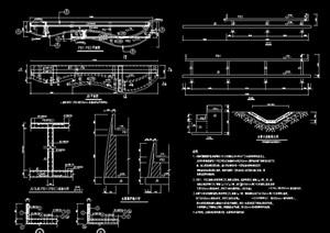 水幕景墙完整详细设计cad施工图