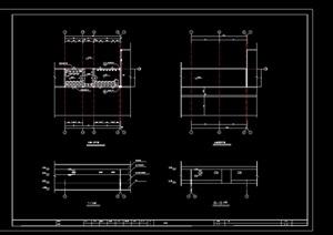 厕所详细设计cad施工图