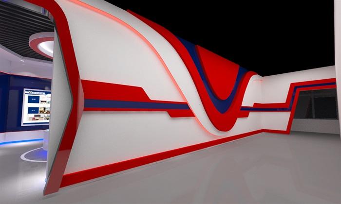 公安、派出所、军队荣誉展厅3D模型及效果图(7)