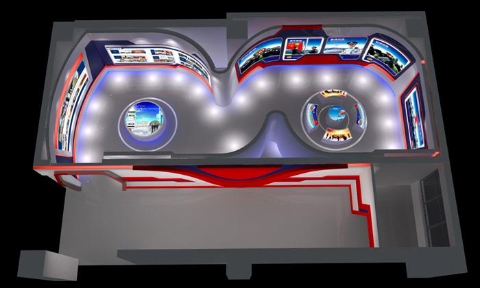 公安、派出所、军队荣誉展厅3D模型及效果图(8)