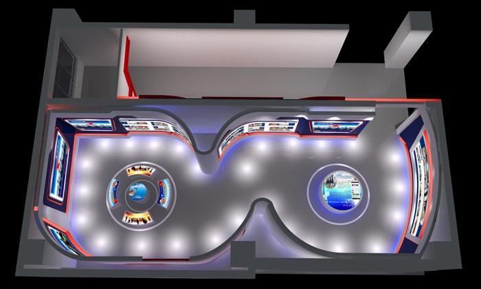 公安、派出所、军队荣誉展厅3D模型及效果图(9)