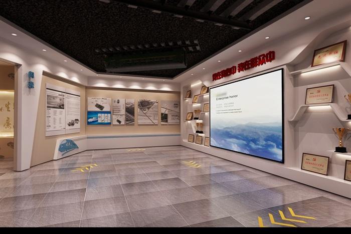党建廉政教育展馆3D模型及效果图(10)