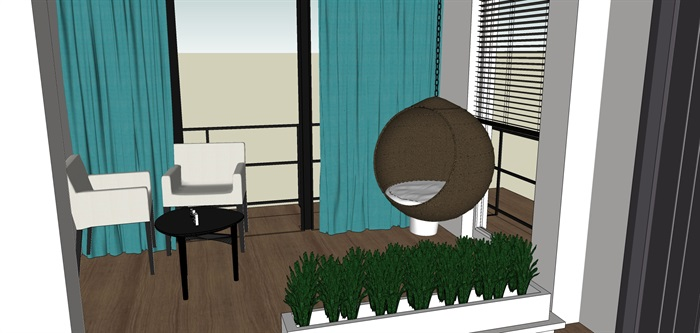 室内一楼家装设计模型II(5)