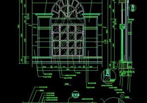 欧式风格窗户设计详图
