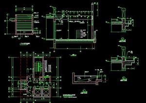 楼层电梯间设计详图
