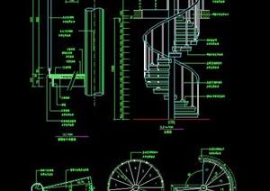螺旋式楼梯设计详图