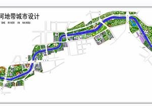 某河滨河公园部分cad方案图