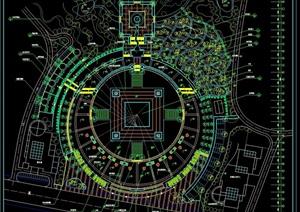 住宅小区规划cad方案工程图
