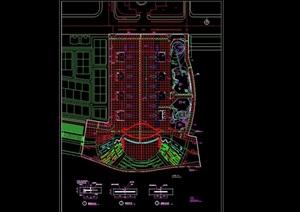 某详细的广场设计cad施工图
