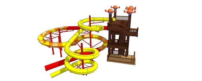 螺旋滑梯(3)