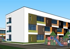 某集镇幼儿园建筑方案设计