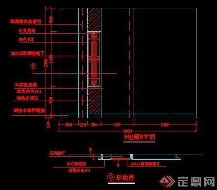 现代风格娱乐KTV室内装修设计图纸