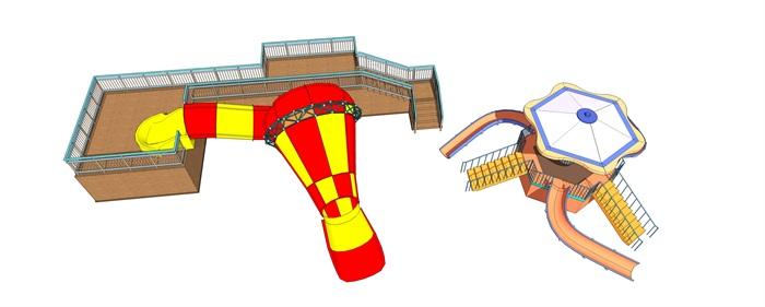 小喇叭儿童滑梯(2)