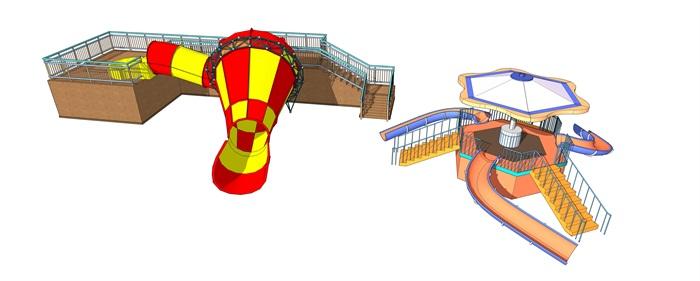 小喇叭儿童滑梯(3)