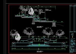 亲水平台详细设计cad施工图