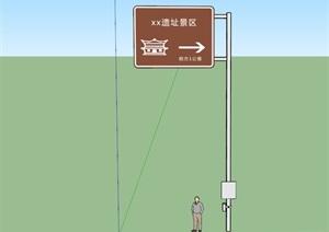 道路标牌,交通标牌,景区标牌,景区距离提醒标牌,道路大牌子,指示牌