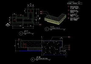 种植花池设计cad施工图