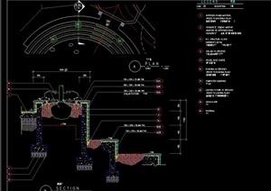 现代种植树池设计cad施工图