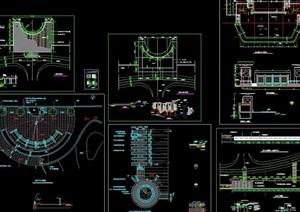 栈台平台CAD合集