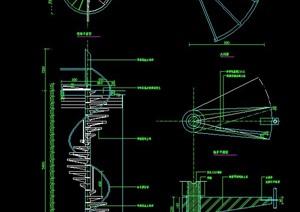 螺旋式樓梯設計圖紙