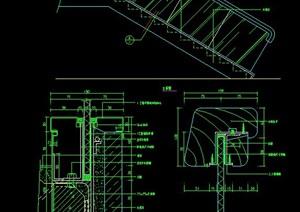 楼梯玻璃栏杆设计图纸