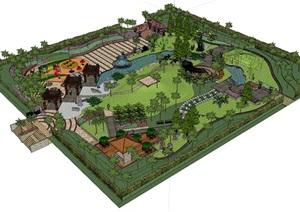 南方多种要素集成综合性休闲公园