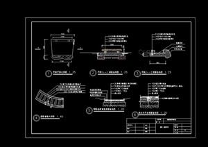 园林景观园路及园桥设计cad施工图