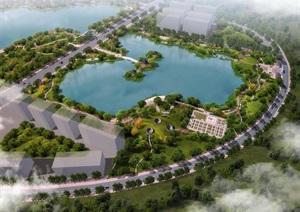 城市景观公园中国古代都城规划博览苑铜雀三台园
