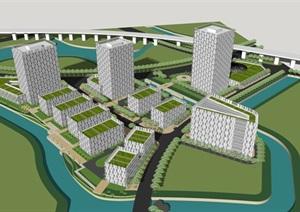 清华嘉定科技园创意园产业园总部基地