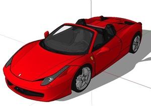 多种不同的豪车精细SU(草图大师)模型