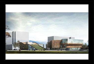 图书馆和非物质文化遗产保护中心概念设计