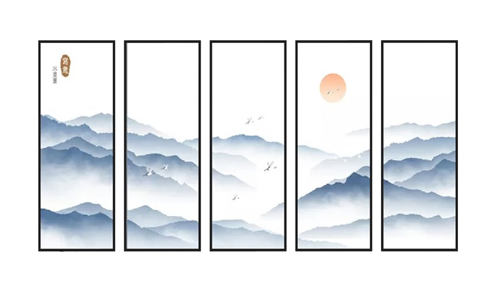 山水装饰画(1)