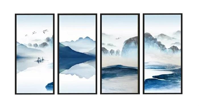 新中式水墨画(1)