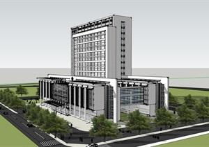 现代简约风市级儿童医院疗养院综合医院