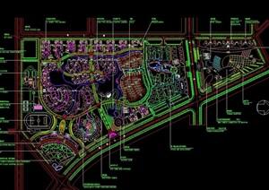 多个详细的小区规划CAD总平面图