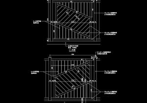简单的围墙设计cad立面图