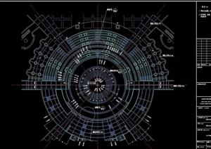 园林景观详细的广场设计cad施工图